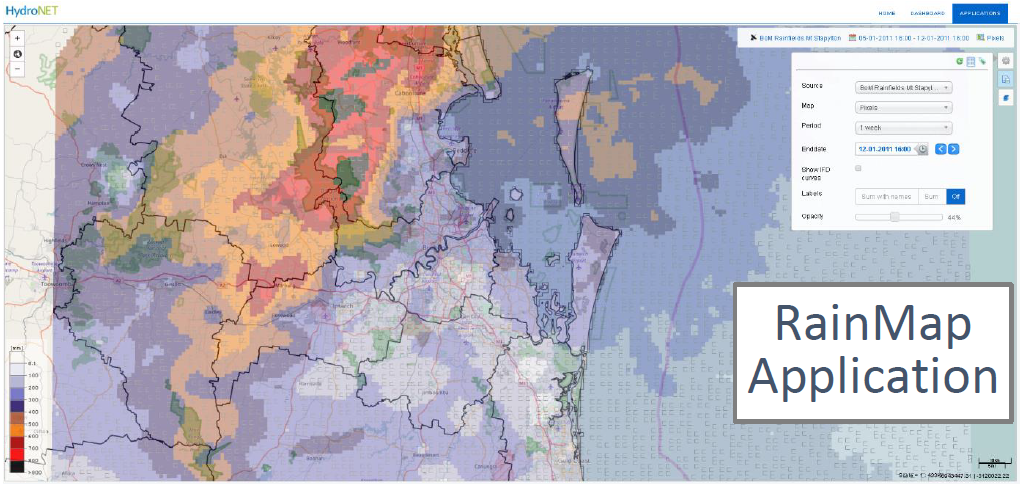 Map Of Australia Radar.Webinar Radar Rainfall Calibration Hydronet Australia